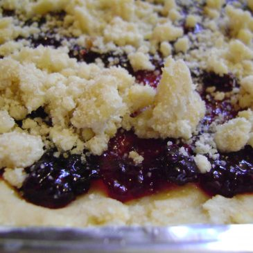 Jam Crumble Bars, Or, What to Bring When You're Invited to Someone's Home for Holiday Meals
