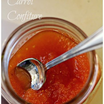 Carrot (not Apricot) Jam