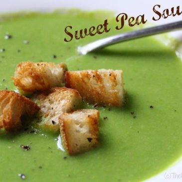 Food in a Flash: Sweet Pea Soup