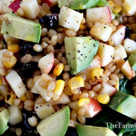 Wheat Berry Apple Salad: Hearty, fresh, and you always end up wanting more