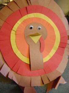 thanksgiving paper turkey