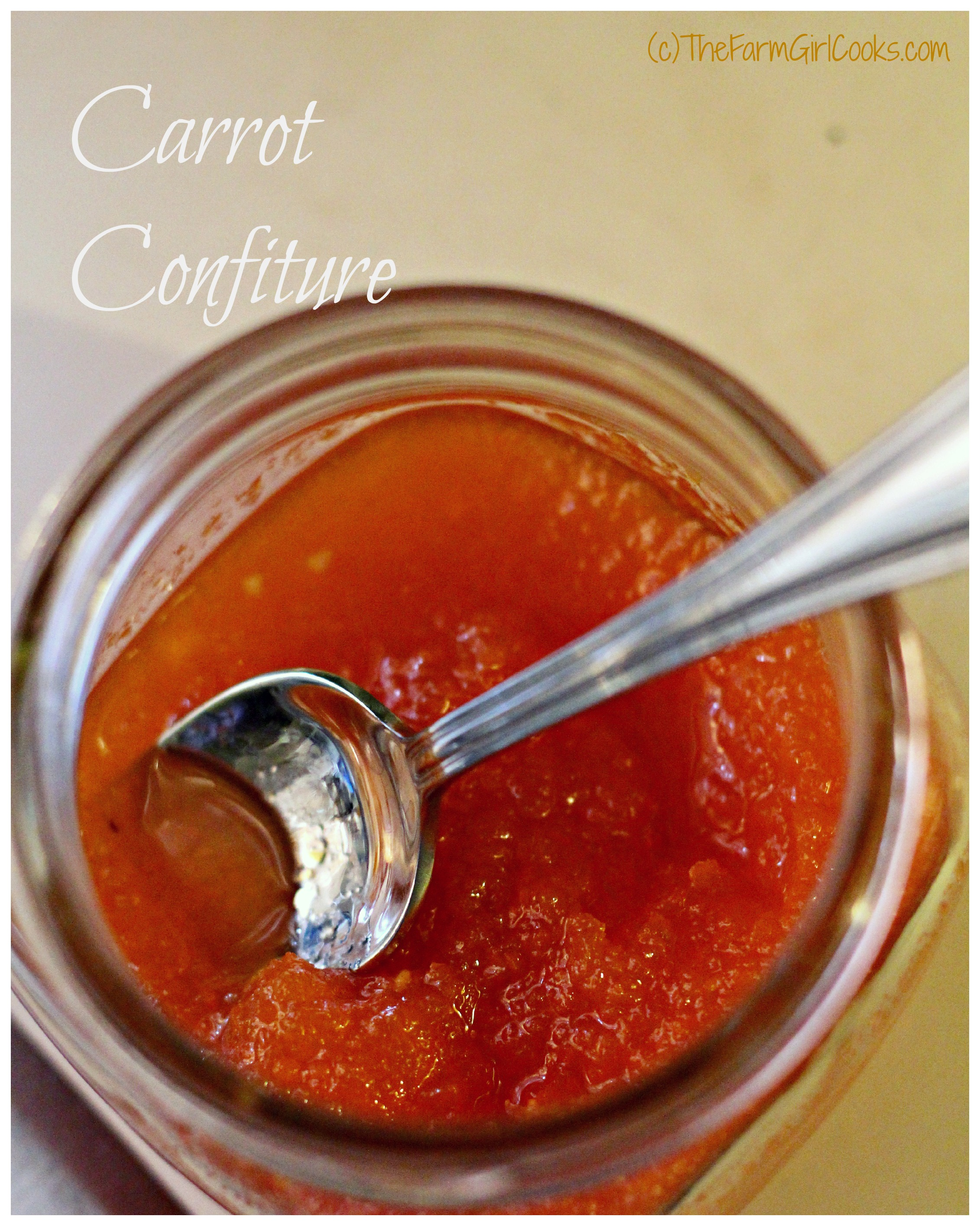 carrot confiture 6