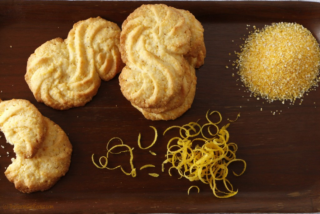 lemon cornmeal cookies 2