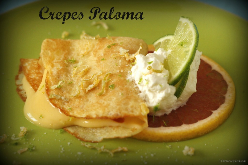 grapefruit curd tequila lime crepe 3