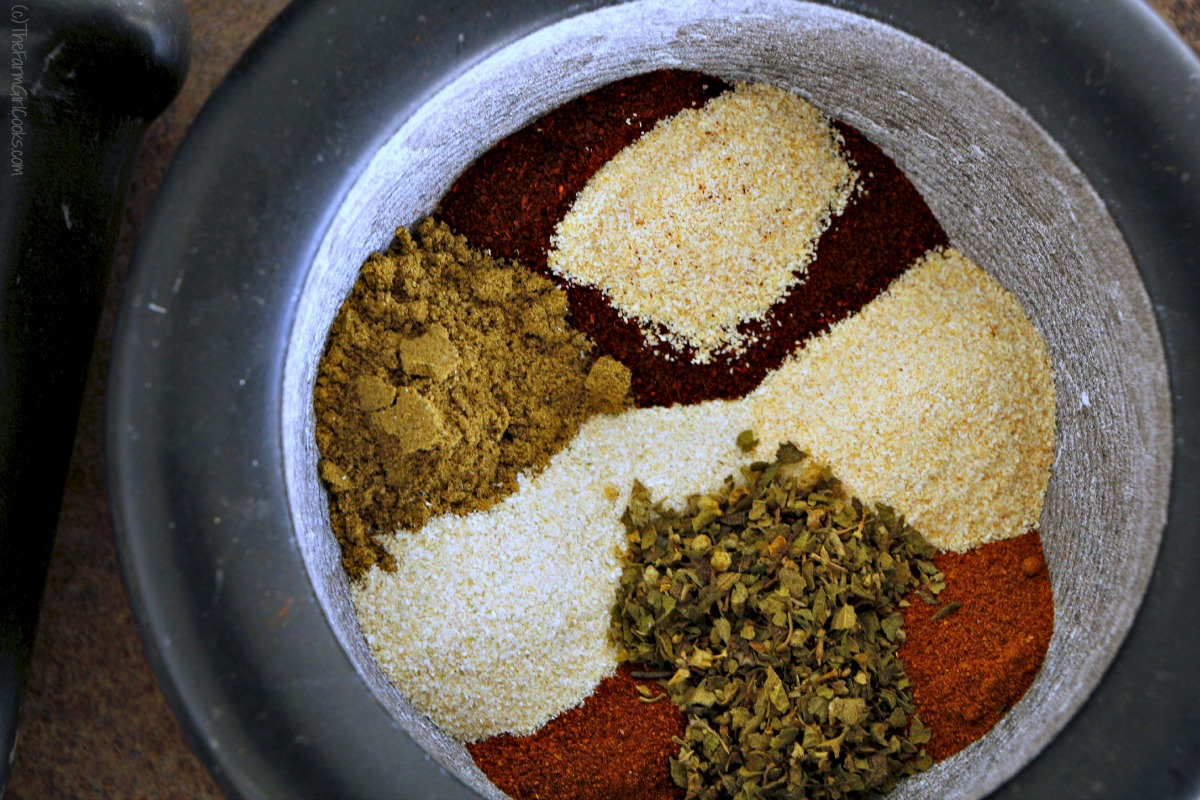 Do It Yourself Taco Seasoning Mix ~ Your Tacos Your Way