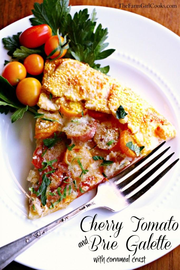 tomato brie galette 2
